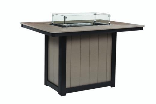 Rectangular Fire Table (Counter)