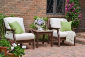 classic terrace chocolate frames sailcloth shell cushions lifestyle