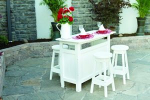 outdoor bar _ white