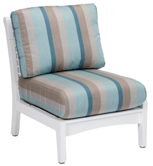 Classic Terrace Center Armless Chair