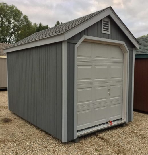 Durabuilt Shed with Garage Door 3