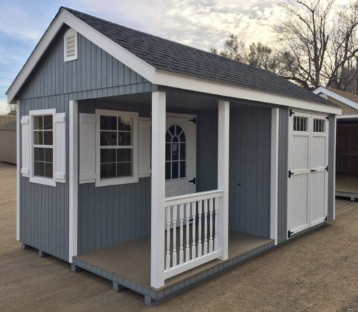 Durabuilt Side Porch Shed