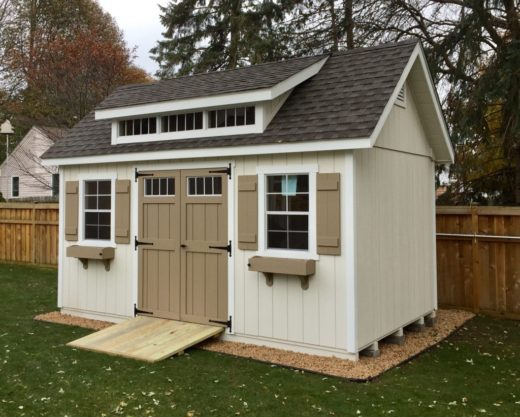 Manor A-Frame Shed with mini Dormer 4