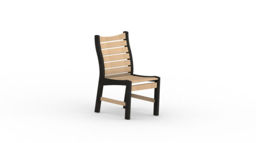 Bristol Dining Chair-No Arms two tone