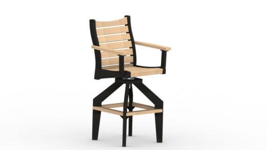 Bristol XT Swivel Chair two toned