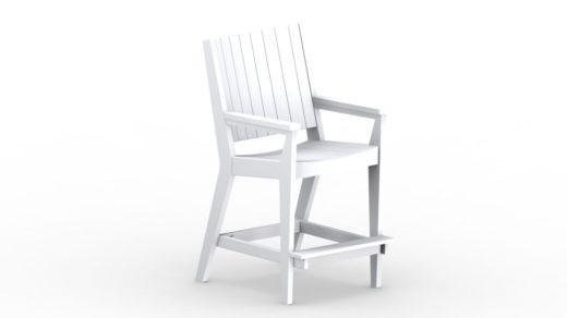 Mayhew Chat Bar Chair white