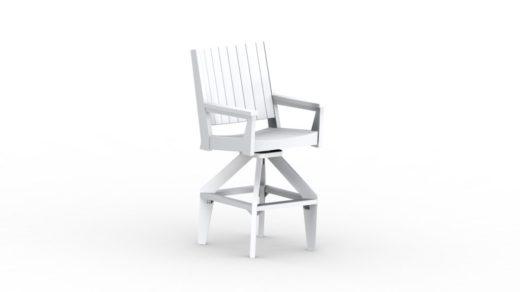 Mayhew Chat XT Swivel Chair white