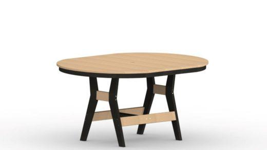 44x64 Oblong Harbor Table