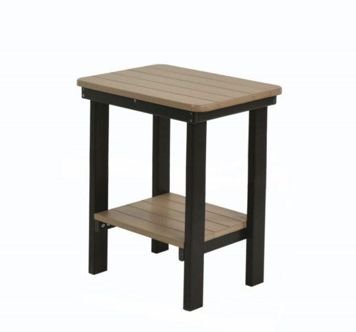 Rectangular End Table Bar Height
