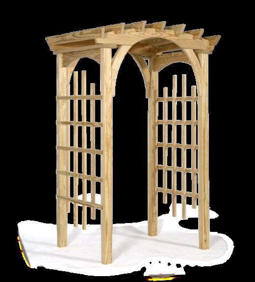 3' x 4' roman arch