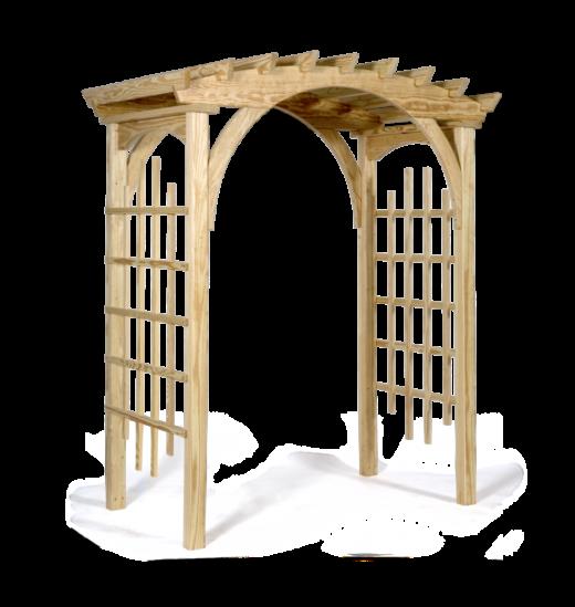 3' x 6' roman arch